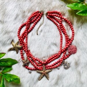 Starfish Coral Necklace